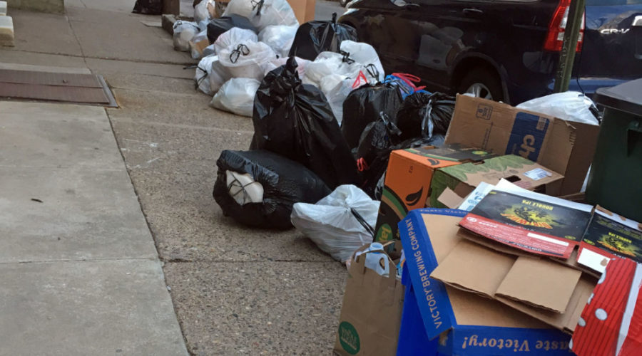 Philadelphia trash